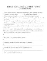 Bài tập môn tiếng anh lớp 9 (101)