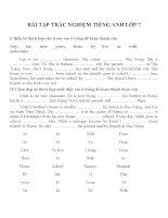 Bài tập môn tiếng anh lớp 7 (50)