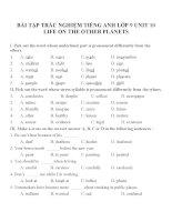 Bài tập môn tiếng anh lớp 9 (1)