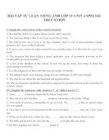 Bài tập môn tiếng anh lớp 10 (88)
