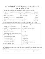 Bài tập môn tiếng anh lớp 7 (150)