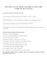 Bài tập môn tiếng anh lớp 10 (95)