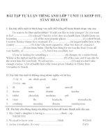 Bài tập môn tiếng anh lớp 7 (68)