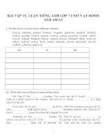 Bài tập môn tiếng anh lớp 7 (45)