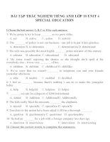 Bài tập môn tiếng anh lớp 10 (15)