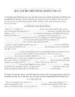 Bài tập môn tiếng anh lớp 8 (15)