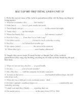 Bài tập môn tiếng anh lớp 8 (7)