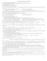 ôn thi trắc nghiệm hóa học 12