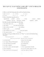 Bài tập môn tiếng anh lớp 7 (89)