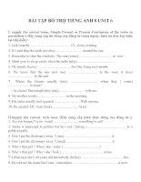 Bài tập môn tiếng anh lớp 8 (37)
