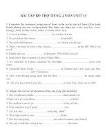 Bài tập môn tiếng anh lớp 8 (35)