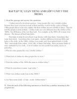 Bài tập môn tiếng anh lớp 9 (116)
