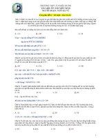 BTSinh chuyên đề 4 tổ hợp xác suất   sinh học 12   ngô hà vũ