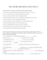 Bài tập môn tiếng anh lớp 8 (32)