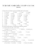 Bài tập môn tiếng anh lớp 9 (65)