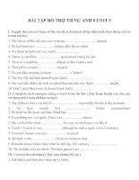 Bài tập môn tiếng anh lớp 8 (9)