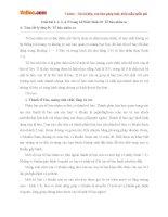 Giải bài tập trang 34 SGK Sinh học lớp 10: Tế bào nhân sơ