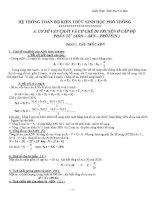 Công thức sinh học THPT   sinh học 12   nguyễn thu thủy