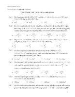 Tuyển tập 350 bài tập trắc nghiệm về chuyên đề thể tích