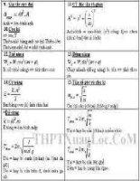 công thức giải nhanh môn  lý 6