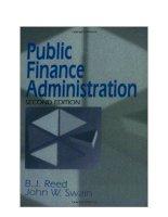 Public Finance Admisitration