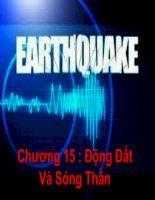 Chuong 15 dong dat dia chat dai cuong