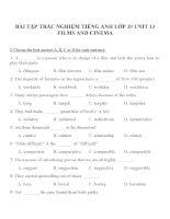 Bài tập môn tiếng anh lớp 10 (27)