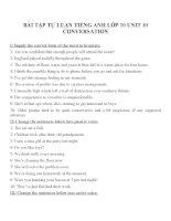 Bài tập môn tiếng anh lớp 10 (119)
