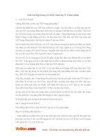 Giải bài tập trang 33 SGK Sinh lớp 9: Giảm phân