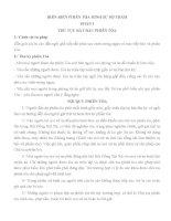 KỊCH BẢN DIỄN ÁN VÕ HOÀNG TRIỀU PHẠM TỘI LỢI DỤNG CHỨC VỤ QUYỀN HÀN KHI THI HÀNH CÔNG vụ