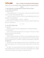 Giải bài tập trang 13, 14 SGK Hóa học lớp 10: Hạt nhân nguyên tử, nguyên tố hoá học, đồng vị