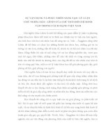 TIỂU LUẬN   sự vận DỤNG và PHÁT TRIỂN SÁNG tạo lý LUẬN CHỦ NGHĨA mác  lê NIN của CHỦ TỊCH hồ CHÍ MINH vào TRONG CÁCH MẠNG VIỆT NAM