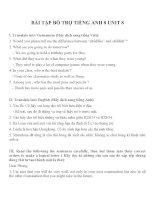 Bài tập môn tiếng anh lớp 8 (8)