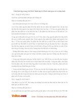 Giải bài tập trang 36 SGK Sinh lớp 9: Phát sinh giao tử và thụ tinh