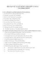 Bài tập môn tiếng anh lớp 9 (115)
