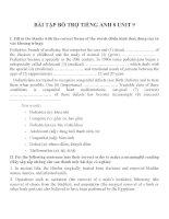 Bài tập môn tiếng anh lớp 8 (40)