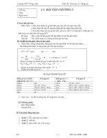 BÀI tập CHƯƠNG i  sinh học 12   trần thanh hiệp