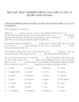 Bài tập môn tiếng anh lớp 10 (46)