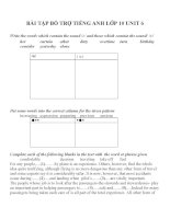 Bài tập môn tiếng anh lớp 10 (167)