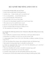 Bài tập môn tiếng anh lớp 8 (26)