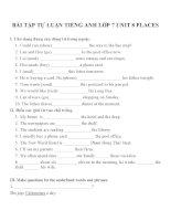 Bài tập môn tiếng anh lớp 7 (60)