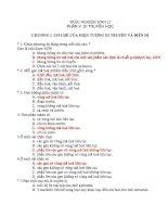 682 câu hỏi trắc nghiệm sinh 12  thầy cô xem và tham khảo