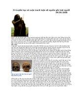 DI TRUYỀN học và CUỘC TRANH LUẬN về NGUỒN gốc LOÀI NGƯỜI   sinh học 12   đoàn quang vinh