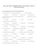 Bài tập môn tiếng anh lớp 10 (17)