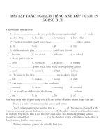 Bài tập môn tiếng anh lớp 7 (46)