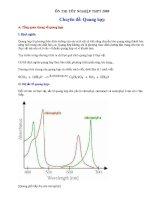 Ôn thi TN   chuyên đề quang hợp   sinh học 12   lê kim tường