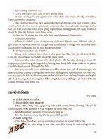 Trọng tâm kiến thức ngữ văn 11 (tập 2) phần 2