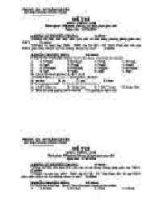 đề thi vật lý khối THCS 12