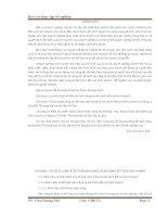 Báo cáo thực tập kế toán bán hàng và xác định kết quả kinh doanh
