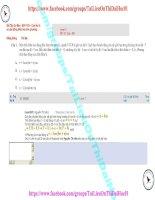 72 bài tập cơ bản   b011103 – con lắc lò xo dao động điều hòa trên phương thẳng đứng (1)